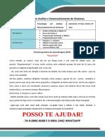 Analises de Sistemas 3 Flex 4 Flex<<<PROMOÇÃO>>25,00 REAIS