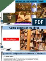 Cómo ordenar libros siguiendo un sistema.  JORGE MORENO JARA