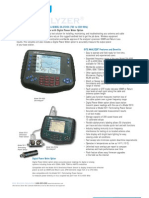 Bird Site Analyser Datasheet