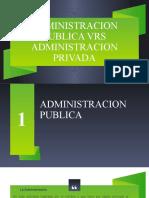 TI Administracion Publica vrs Administracion Privada.pptx