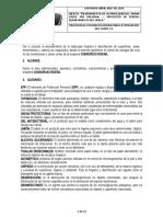PROTOCOLO DE LIMPIEZA Y DESINFECCION.