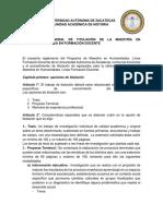 Reglamento Titulación MHLFD