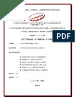 SÍNTESIS DE LA PRIMERA UNIDAD  (2)ACT 6