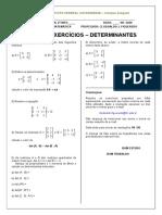 Lista_-_Determinantes