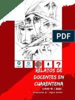 RELATOS DE DOCENTES EN CUARENTENA (julio-agosto,2020)