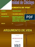 ARGUMENTO DE VIDA-ROSILLO