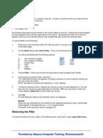 Excel - AutoFilter