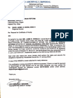 Request for Certificate of Finality