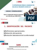 UNIDAD I - Tema 2_ EVALUACION INICIAL PACIENTES CON  INFECCION POR SARS COV2.pdf