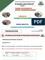 COMUNICACIÓN INTERPERSONAL (ACTIVIDAD N° 01) PPT