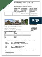 Cuestionario LENGUA - MATERIAL DIAGNÓSTICO