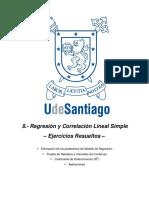 8. Regresión y Correlación Lineal Simple _ Ejercicios Resueltos y Propuestos.pdf