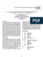 PARAMETRICAL AND THEORETICAL DESIGN OF A FRANCIS TURBINE RUNNER