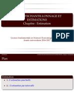 Chapitre 5  Estimastion