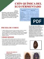 2. COMPOSICIÓN QUÍMICA DEL CACAO SECO FERMENTADO