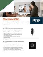 Poly USB Cameras Overview