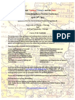 1st Annual International Studies Conference