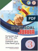 BANK SOAL KELAS 3
