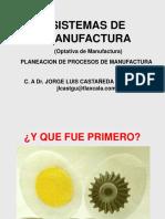 1.0 PLAN- PROCESOS DE MANUFACTURA