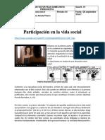 C-6 GUIA 1 Participación en la vida social