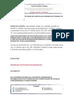 59- MODELO DE RECONHECIMENTO DE UNIÃO ESTÁVEL E DISSOLUÇÃO