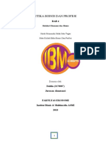 RESUME BAB 4 - HAKIKAT EKONOMI & BISNIS - DAHLIA (3170007)