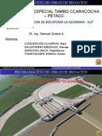 Bocatoma La Achirana (