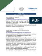 Noticias 29 - 30 de enero RWI - DESCO