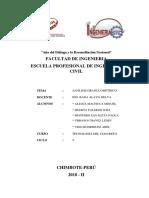 CONCRETO - Informe de granulometría