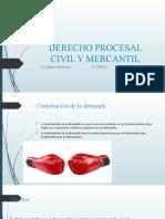 6a. SESION DERECHO PROCESAL CIVIL Y MERCANTIL.pptx