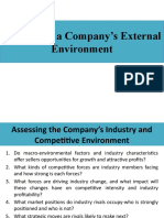 Chapter  Evaluating a Company's External Environment.pptx