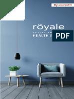AP Royale Health Shield Shade Card