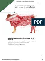 Dicas sobre cortes de carne - dicas de como comprar e preparar