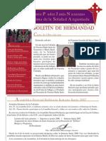 Boletín oficial de la Cofradía Nuestro Padre Jesús Nazareno y Mª Stma. Soledad Angustiada (2007)