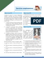 ENEM Amazonas GPI Fascículo 6 – O Mundo das Artes - Exercícios Complementares