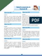 ENEM Amazonas GPI Fascículo 6 – O Mundo das Artes - Gabarito Comentado