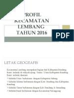 PROFIL KECAMATAN