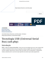 Tecnologia USB (Universal Serial Bus)