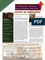 Boletín oficial de la Cofradía Nuestro Padre Jesús Nazareno y Mª Stma. Soledad Angustiada (2008)