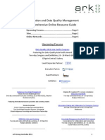 A Comprehensive Online Resource Guide for Information, Library and Data Quality Management Professionals