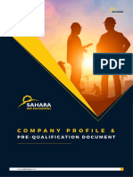 Engineering Contracting Company Profile Sample