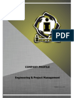 Engineering and Consulting Company Profile Sample