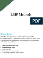 summary of LSIP methods