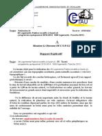 Rapport Explicatif 30 Oued Lili 2016
