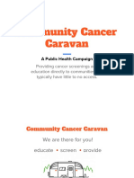 ogl343 team10 community cancer caravan presentation