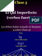 Clase 5 Qal Imperfecto--verbos fuertes