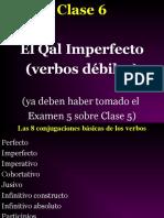 Clase 6 Qal Imperfecto--verbos debiles