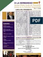 Boletín oficial de la Cofradía Nuestro Padre Jesús Nazareno y Mª Stma. Soledad Angustiada (2009)