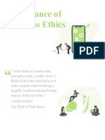 Chapter 1-Importance of Business Ethics