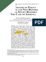 ARMENIA PARAMETERS_OF_POLICE_REFORM_AN